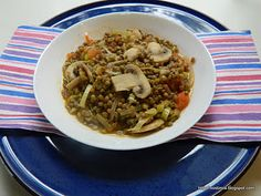 Lentils with Muscatel Wine