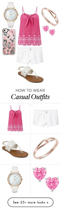 """""""casual"""" by shayshayv on Polyvore featuring Monsoon, MANGO, Olivia Miller, Kate Spade and Casetify"""