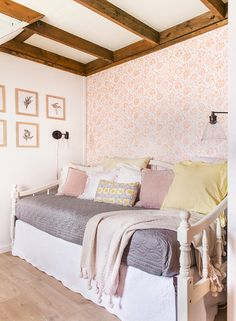 It's Bedroom Reveal Week and we're on Day 3, revealing the third of six bedrooms (halfway there!). Click below to witness the before, during & after transformation: Once upon a time…