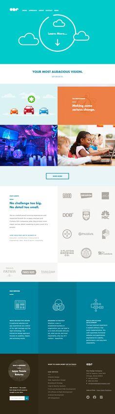 One Design Company –Chicago Web Design Tablet