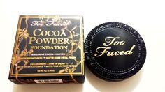 Ami's Magic Box: Review: [Too Faced] Cocoa Powder Foundation