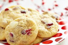 White Chocolate Cranberry Cookie 1