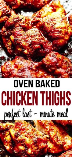 Oven Baked Boneless Skinless Chicken Thighs cooked in super flavorful spice combo. Oven Baked Boneless Skinless Chicken Thighs cooked in super flavorful spice combo. Skinless Chicken Recipe, Baked Boneless Chicken Thighs, Crispy Baked Chicken Thighs, Easy Oven Baked Chicken, Chicken Thigh Recipes Oven, Baked Chicken Recipes, Oven Bbq Chicken Thighs, Keto Chicken, Chicken Thigh Meals