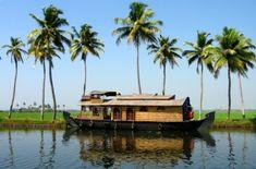 Backwaters, Kerala, India.