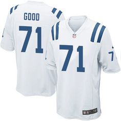 Men's Nike Indianapolis Colts #71 Denzelle Good Game White NFL Jersey