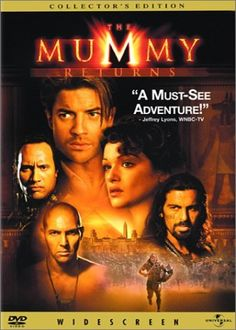 The Mummy Returns (Widescreen Collector's Edition) DVD ~ Brendan Fraser, http://www.amazon.com/dp/B00003CXTA/ref=cm_sw_r_pi_dp_wYtbsb0SGTK0Y