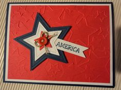 Card Corner by Candee: Patriotic Stars Cards