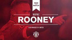 MOTM Wayne Rooney vs Club Brugge
