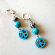 www.aniika.com  Peace earrings
