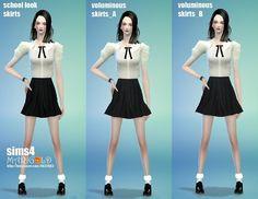 Voluminous skirts at Marigold via Sims 4 Updates