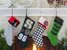 How to Make a No-Sew Felt Stocking : HGTV.com Holiday House with Britany Simon http://www.hgtv.com/holiday-house/package/index.html