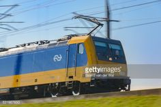 Zoetermeer, The Netherlands - October 27, 2015: Dutch Railways... #zoetermeer: Zoetermeer, The Netherlands - October 27, 2015:… #zoetermeer