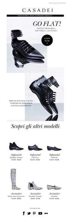 #newsletter Casadei 10.2013 subject:  Just arrived: la nuova Ballerina multistrap