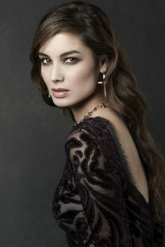 """Berenice Marlohe, ill-fated Bond girl from """"Skyfall"""" Bond Girls, Skyfall, Trends 2018, James Bond Women, Portraits, French Actress, Glamour Photography, My Beauty, French Beauty"""