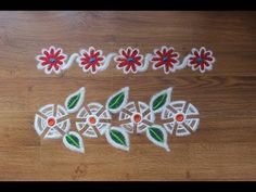 Here is a Simple and super easy border rangoli designs - rangoli designs with colours. I have used a funnel for rangoli design. These border rangoli design c. Colorful Rangoli Designs, Beautiful Rangoli Designs, Special Rangoli, Diwali, Decorating Your Home, Bangles, Colours, Bracelet, Simple