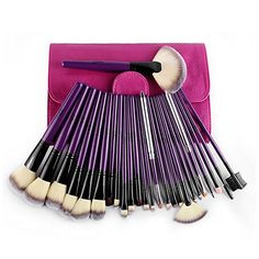 24PCS Professional Makeup Brushes Sets Blush Foundation Powder Brush Lips Brush Blush Brush Synthetic Face Lips Eyebrow Comb Brush Beauty Contouring Makeup Tools Cosmetic Kits *** You can get more details at http://www.amazon.com/gp/product/B01D5XXCCQ/?tag=makeuptips3-20&pvw=190816003400
