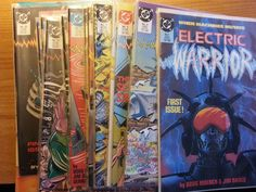 Electric Warrior #1-18 DC Comics 1986 very nice condition plus two added comics