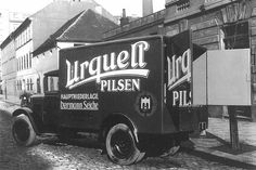 Explore more than 110 years history of engineering excellence of the Praga company. Sweeper Truck, Heavy Truck, Car Manufacturers, Sidecar, Old Cars, First World, Automobile, Prague Transport, Old Things