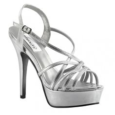 Cali from Dyeables is the ultimate platform sandal that is perfect for any pageant or special occasion. Available in nude or silver, multiple straps secure this style to your foot while a buckle allows you to adjust for the optimal fit. Pageant Shoes, Prom Shoes, Shoes Heels, High Heels, Dress Shoes, Evening Sandals, Evening Shoes, Platform Bridal Shoes, Prom Boutiques