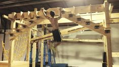 American Ninja Warrior Training Session @ Crossfit Lilburn 678 (June 2014)