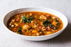 ... Bon Appetit/Soup on Pinterest   Soups, Kale Soup and Sweet Potato Soup