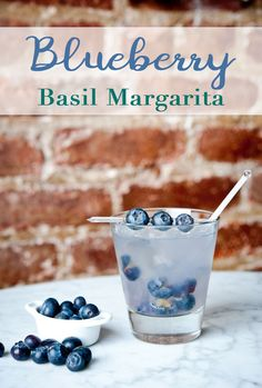 Blueberries are Tequila's New Best Friend! This true-blue Margarita gets its gorgeous hue from fresh seasonal berries.