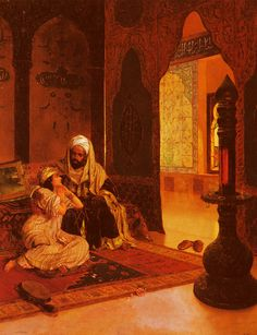 Rudolf Ernst Favorite of the Farm painting for sale, this painting is available as handmade reproduction. Shop for Rudolf Ernst Favorite of the Farm painting and frame at a discount of off. Art Arabe, Farm Paintings, Arabic Art, Arabian Nights, Moorish, Islamic Art, Modern Art, Art Gallery, Fine Art