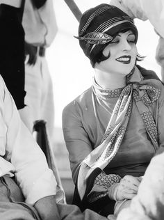 Clara Bow.The 20's and Prohibition gave rise to the flapper girl and the speak easy and Jazz. The Roaring twenties culminated in the stock market crash of Oct 29 1929 named Black Friday.