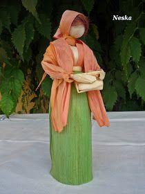Corn Husk Crafts, Corn Husk Dolls, Homemade Dolls, Diy And Crafts, Paper Crafts, Crepe Paper Flowers, Nativity, Sculptures, Africans
