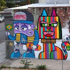 street art by Chivitz