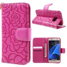 Köp Läderfodral Blommor Samsung Galaxy S7 rosa online: http://www.phonelife.se/laderfodral-blommor-samsung-galaxy-s7-rosa