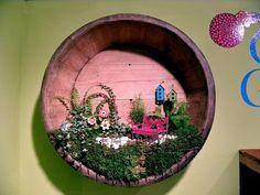 Indoor fairy garden #fairygarden