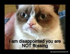 grumpy likes dental hygiene....haha this goes out to a few people in my life. Laughing so hard!