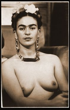 Frida Kahlo nude - these are authentic - Julien Levy ~1938