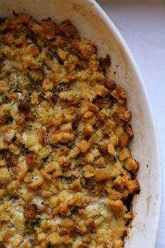 Oyster Casserole - great stuffing idea!