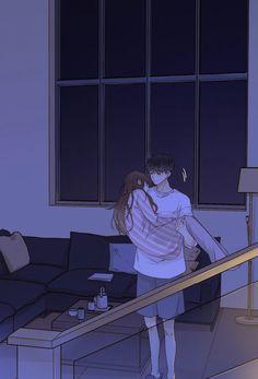 Cute Couple Drawings, Cute Couple Cartoon, Cute Couple Art, Cute Love Cartoons, Anime Love Couple, Anime Couples Drawings, Anime Couples Manga, Anime Guys, Romantic Anime Couples