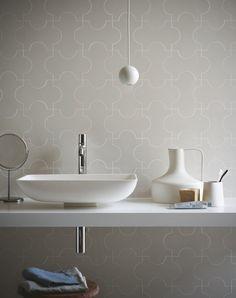 Indoor ceramic wall/floor tiles PROGETTO TRIENNALE by MARAZZI #white #bathroom @Marazzi