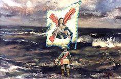 El milagro de Empel Painting, Image, Dilema, World, Ancient Art, Legends, Paintings, Spain, Painting Art