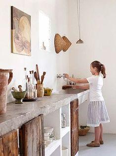 Kitchen Concrete Countertops 18 1 Kindesign
