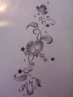 Image detail for -heart tattoo design by tattoosuzette designs interfaces tattoo design ...