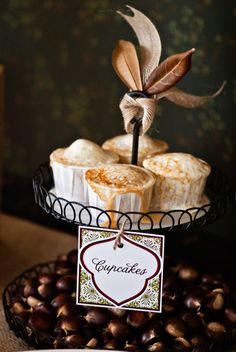 Sweet Potato Marshmallow Cupcakes