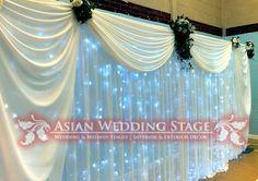 How to Backdrops for Weddings | Wedding Mehndi decor & Venue Decorations Receptions Backdrops
