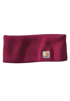 Carhartt Womens WA053 Acrylic Headband - Merlot | Buy Now at camouflage.ca