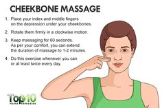 cheekbone massage to reduce face fat naturally Facial Exercises For Men, Face Exercises Cheeks, How To Get Fatter, How To Get Rid, Losing Belly Fat Diet, Lose Belly Fat, Lose Fat, Thinner Face, Reduce Face Fat