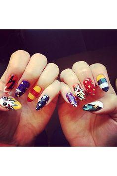 Celebrity nail art inspiration