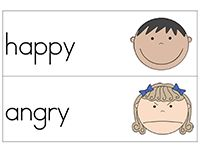 emotions word cards - Pinned by @PediaStaff – Please Visit ht.ly/63sNt for all our pediatric therapy pins