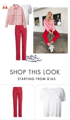"""""""FREJA WEWER"""" by frederikkematilder ❤ liked on Polyvore featuring New Balance, Acne Studios, T By Alexander Wang and Ganni"""
