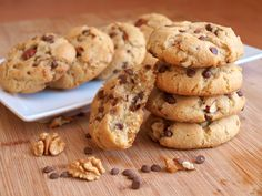 Avec Plaisir - Strana 14 z 18 - Pečení s radostí Brownie Cookies, Chocolate Cookies, Czech Recipes, Cake & Co, Baking Recipes, Sweet Recipes, Sweet Tooth, Sweet Treats, Food And Drink