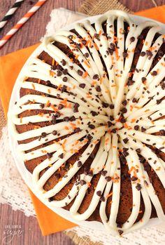 Pumpkin Chocolate Chip Bundt Cake from @lifelovesugar