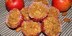 De her sunde havregrynsmuffins smager skønt af æble og vanilje, og så giver de morgenmaden et dejligt lille twist.